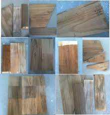 how to create faux reclaimed wood countertops remodelaholic