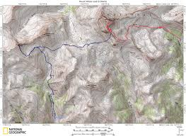14ers Map Uncompahgre Peak