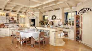 country kitchen custom made with automation systems luxury