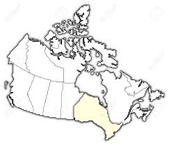 Map Of Canada With Provinces by Political Map Of Canada With The Several Provinces Where Ontario