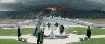 the prophecy in the lord of the rings the white tree and