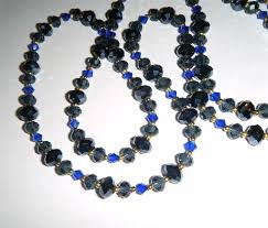 blue beaded necklace images 75 best dainty crystal bead necklaces images bead jpg