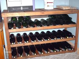 home made wine rack plans diy building racks dma homes 21349