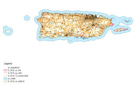 Pr Map Population Dot Map Puerto Rico 3507x2480 Mapporn