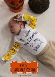 my first halloween onesies diy emoji baby costume for under 10 in under 10 minutes i dig