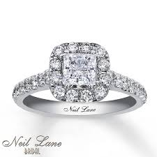 kay jewelers promise rings kay neil lane bridal ring 1 1 2 ct tw diamonds 14k white gold