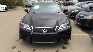 lexus sedan 2014 2014 lexus gs 350 awd f sport package black on red edmonton