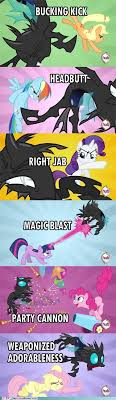 Best Mlp Memes - mlp canterlot wedding fighting techniques pinkie and fluttershy are