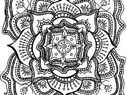mandalas et coloriages abstraits imprimables pour soulager le