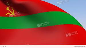 Moldova Flag Flag Of Transnistria State Stock Animation 1239118
