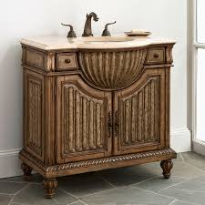 Metal Bathroom Vanity by Epic Furniture For Bathroom Decoration With Cherry Wood Bathroom