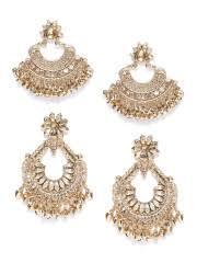 chandbali earrings online chandbali earrings buy chandbali earring online myntra