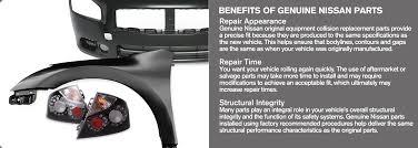 nissan sentra junk parts genuine parts advantage nissan collision