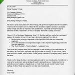 engineering cover letter template engineer cover letter example