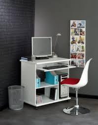 bureau informatique compact console informatique compact 2 blanc the office bureau et mobilier