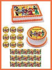 power rangers cake toppers power rangers cake topper ebay