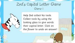 capital letters and full stops games punctuation games and