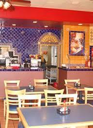 las fajitas restaurant wall decor using mexican tiles by