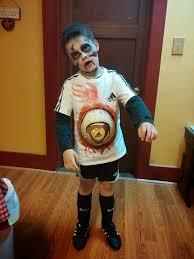 livin u0027 generic zombie soccer play how to halloween costume