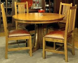 mission style dining table with leaves craftsman furniture bench