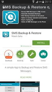 guide backup and restore sms on android no root required