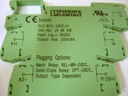 new phoenix contact terminal block w mini relay socket s wiring