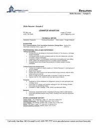 Sample Resume Skills List by List Of Professional Skills For Resume Samples Of Resumes
