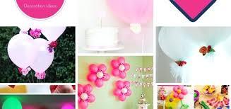 simple balloon centerpieces handmade balloon decoration ideas