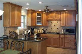 Cabinet Colors For Small Kitchens by Small Kitchen Makeover Makeover With White Cabinet And Red