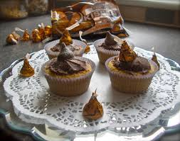 chocolate caramel hershey kisses fairy cake recipe garden tea