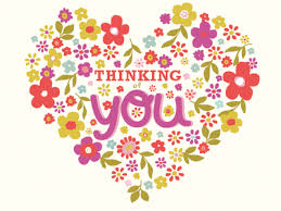 thinking of you flowers thinking of you greeting card heart by amanda andres dribbble