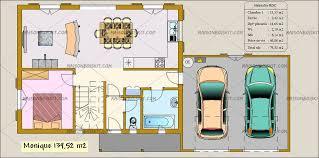 prix maison plain pied 4 chambres maison bois moderne toit plat cubique cube 4 plan plain pied