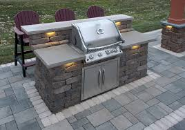 Outdoor Patio Grill Island Grill Willow Creek Paving Stones