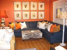 Orange And Beige Curtains Living Room Orange And Brown Living Room Accessories Orange And