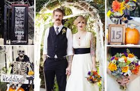 the spookiest halloween weddings we u0027ve ever seen bridalguide