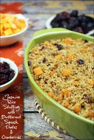 rice with butternut squash dates cranberries