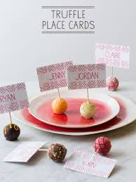 diy place cards truffle place cards place card diy spoon fork bacon