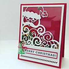 stampin u0027 up detailed santa thinlit others u0027 stampin u0027 up cards