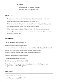resume exles simple simple resumes simple resume exle luxury basic resumes