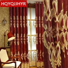 maroon curtains for bedroom european maroon royal luxury blackout curtains for living room