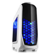 Desk Top Computers On Sale 2015 Sale Desktop Computer White With 2 Led Fan Usb3 0