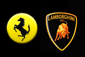lamborghini badge ferrari and lamborghini an illustrated guide carbuyer