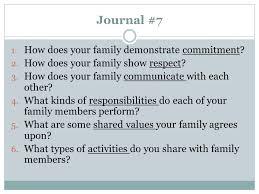 family relationships ppt