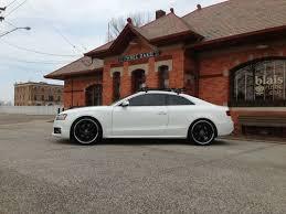 audi s5 warranty sell used 2010 audi s5 prestige auto ibis white lowered hre wheels