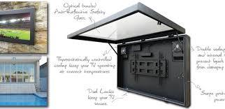 outdoor tv cabinet enclosure outdoor television cabinet dosgildas com