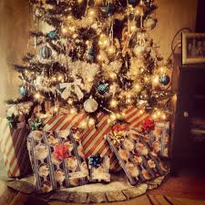 thin blue line tree blue and silver christmas ideas pinterest