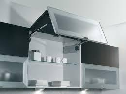 meuble de cuisine en verre cuisines cuisine meuble haut vitre porte pliante 26 exemples