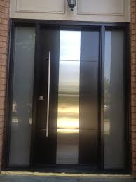 Exterior Entry Doors With Glass Outside Steel Doors With Glass Pilotproject Org
