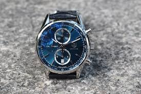 carrera watches professional watches review tag heuer carrera 1887 with blue dial