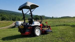 Lawn Tractor Canopy by Exmark 52 Lazer Z Hp With Canopy Youtube